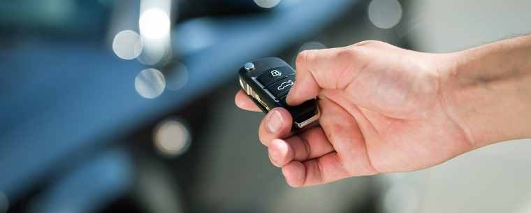 unlocking car with keyfob