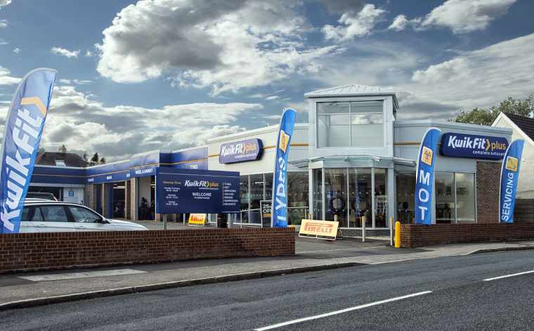 external view of Kwik Fit Plus centre