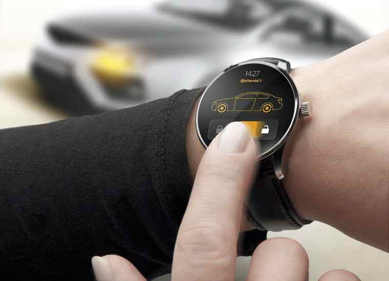 Continental Smart Watch
