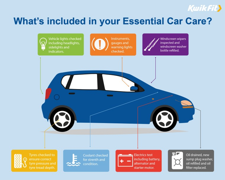 Essential Car Care Infographic