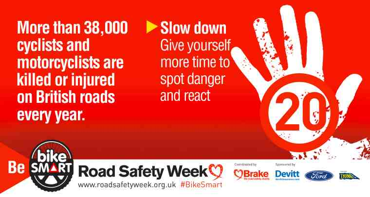 Brake infographic- slow down