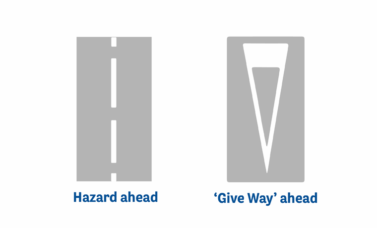 Road marking meanings