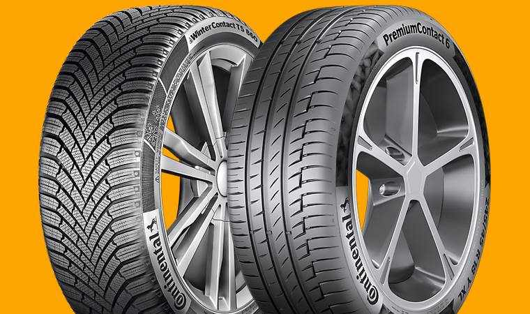 winter and summer tyre tread differences
