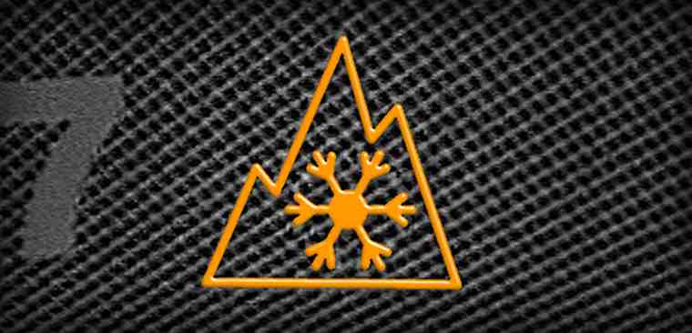 3 peak mountain snow flake tyre symbol