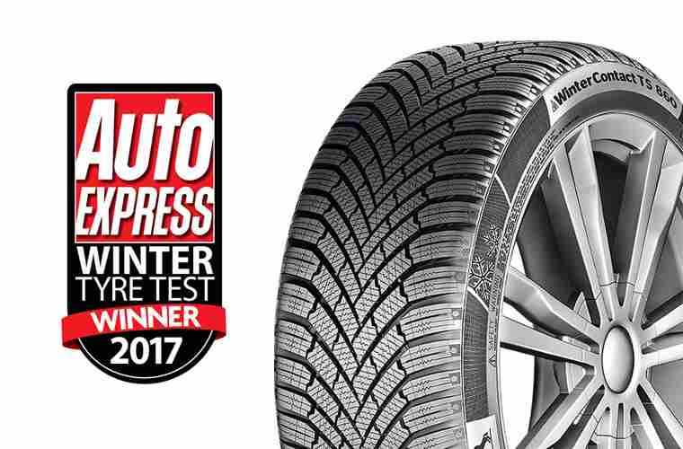 Auto Express - winter tyre winner 2017 Continental