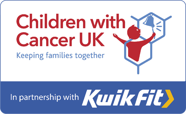 Children with Cancer UK in partnership with Kwik Fit