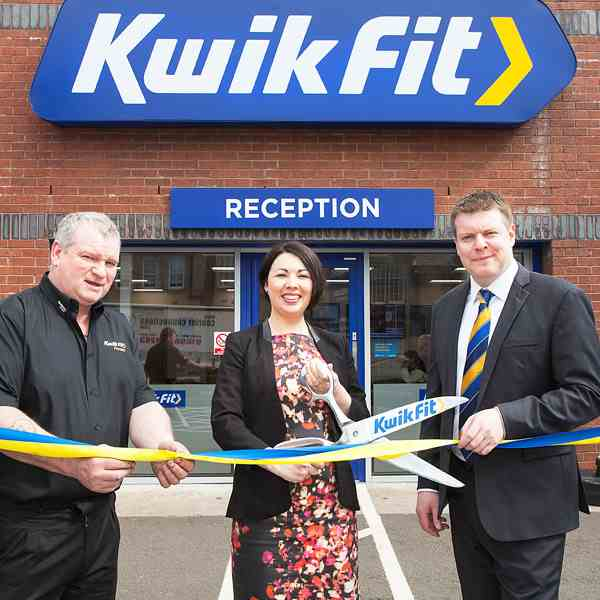 Opening Kwik Fit Centre