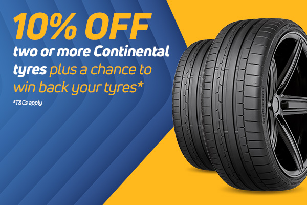 Win Your Continental Tyres