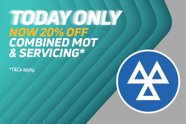 20% Off Combined Service & MOT