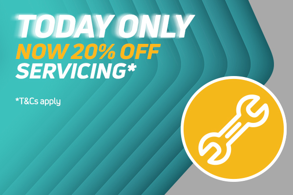 20% Off Servicing