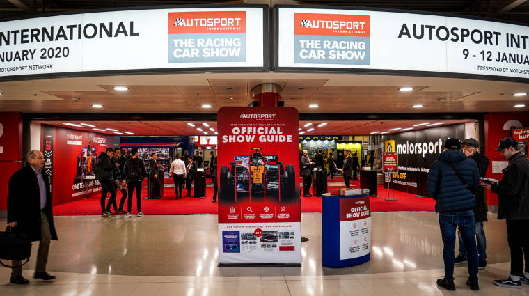 Autosport International show entrance