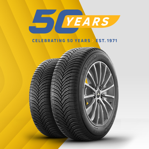 10% off with code: KF50 when you buy 2 or more Goodyear, Michelin, Pirelli, Continental, Bridgestone or Dunlop tyres!