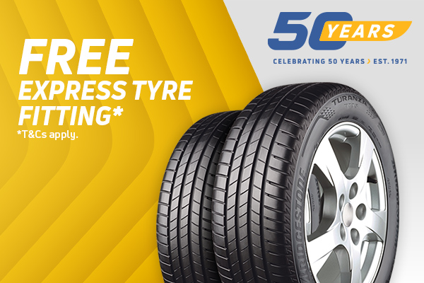 Free Express Tyre Fitting