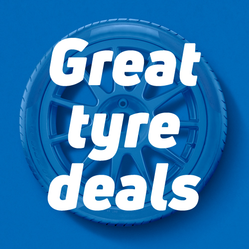 Get 10% off when you buy 2 or more Goodyear tyres with code GO10 plus be entered into our draw to win a Nissan Qashqai!