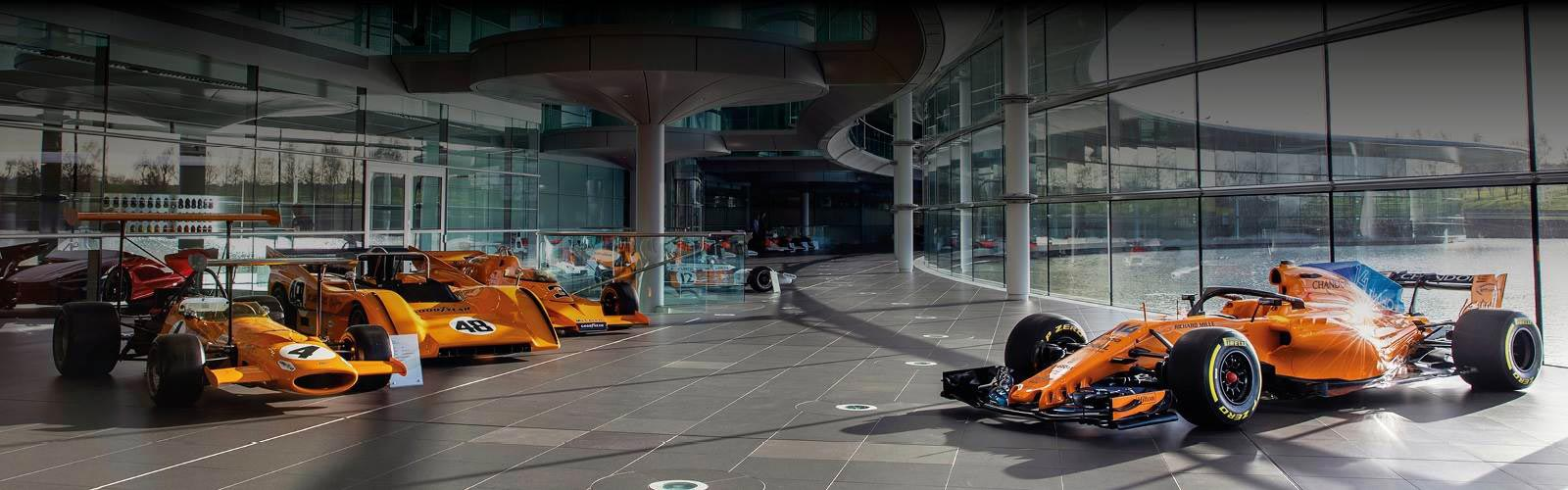 Win A Tour Of The McLaren Technology Centre