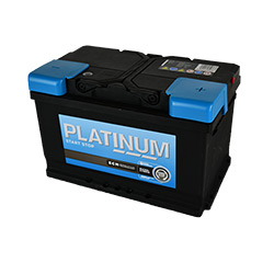 Platinum Car Battery- Start Stop AFB- AFB100LE- 3 Year Guarantee