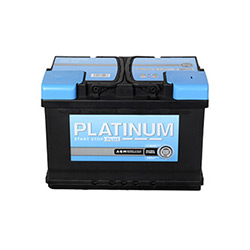 Platinum Car Battery- Start Stop- AGM096E- 3 Year Guarantee