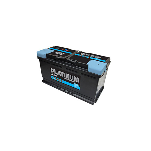 Platinum Car Battery- Start Stop- AGM019- 3 Year Guarantee