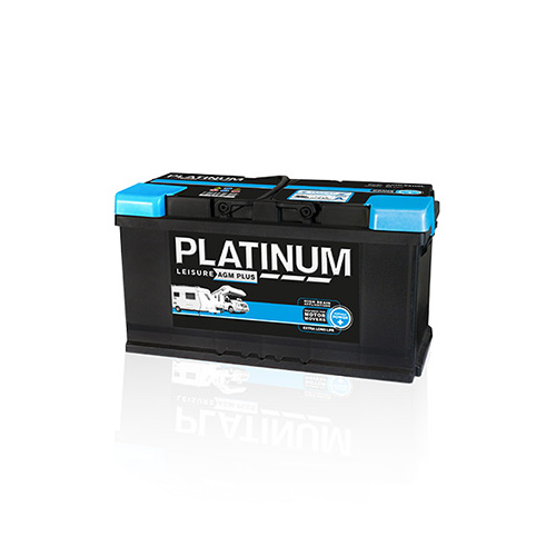 Platinum Low Box AGM 100Amp Leisure Battery
