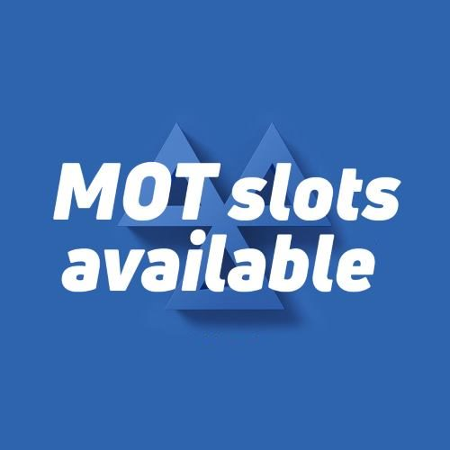 Book Your MOT Appointment Today!