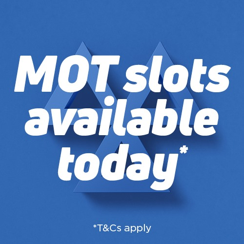 Book Same Day MOT Appointments Today!