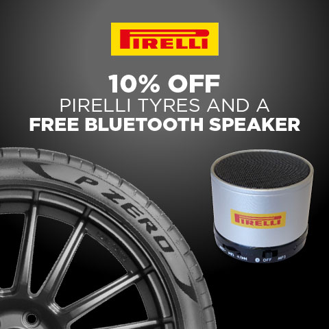 Pirelli Free Bluetooth Speaker Offer